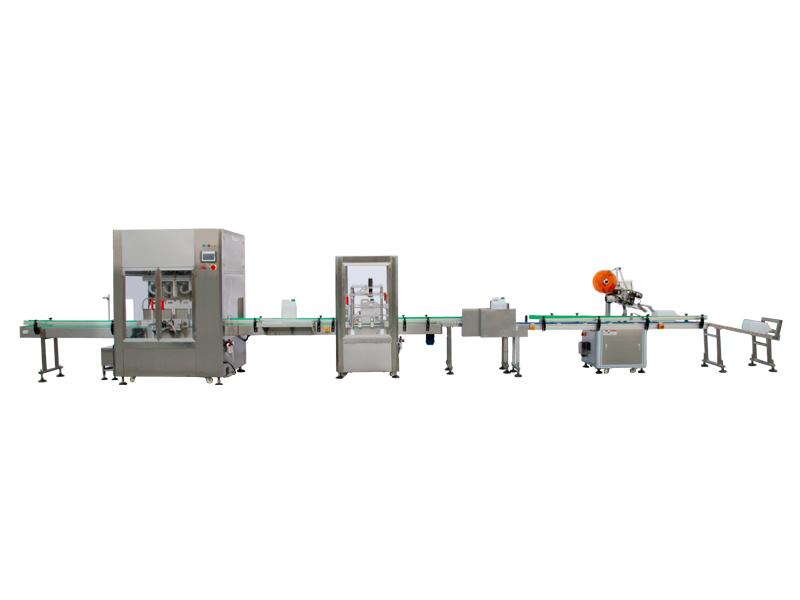 全自动称重式计量液体灌装机设备